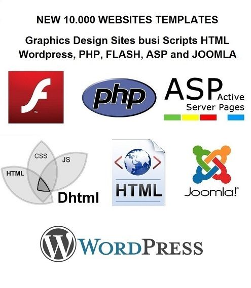 10,000+ Website Templates FLASH WORDPRESS JOOMLA 1