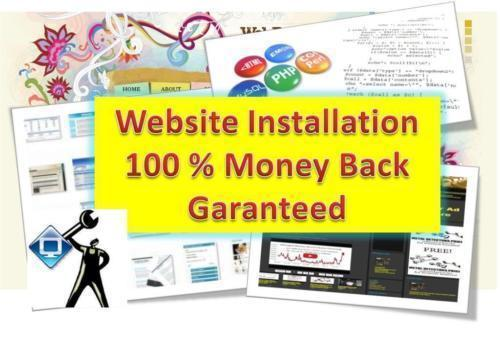 Website Installation Service - Get your website online! Fix your Wordpress Site! 1