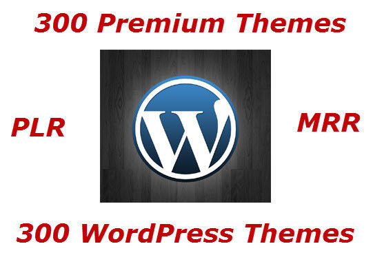 300 Premium Wordpress Themes With Resell Rights - CD/DVD 1