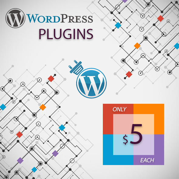 WordPress Plugins - Mega Collection: Only $5 Each 1