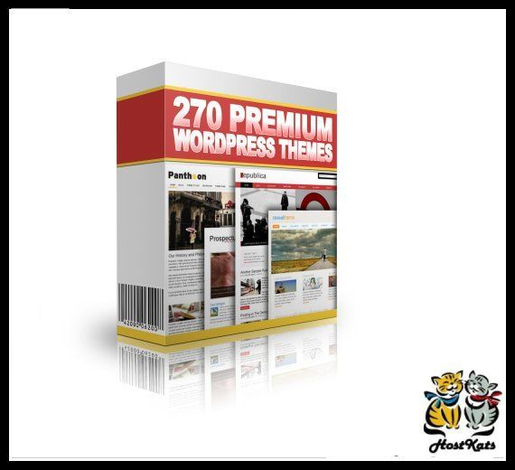 270 Premium WordPress Themes 1