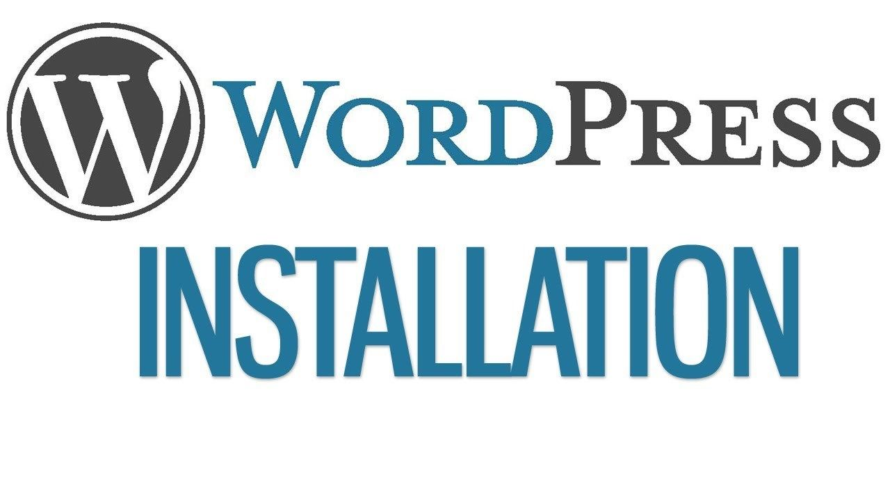 $5 complete WordPress installation 1