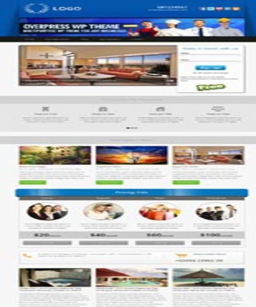 WordPress Themes: OverPress Multipurpose  Premium Theme DOWNLOAD 1