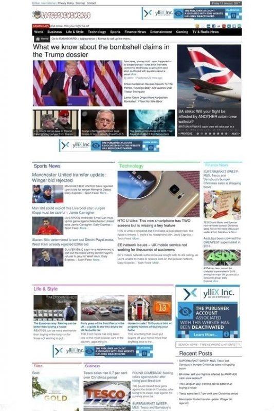 Fully Automated Wordpress News Website - 100% Autopilot - SEO Ready Website 1