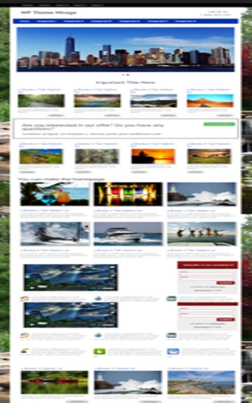 Wordpress Themes: Mirage Premium WP Theme DOWNLOAD 1