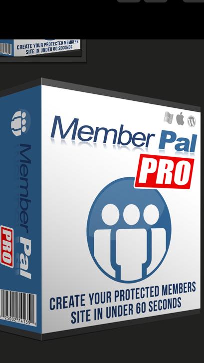 Wordpress Plugin to create money making membership websites. (memberpal PRO) 1