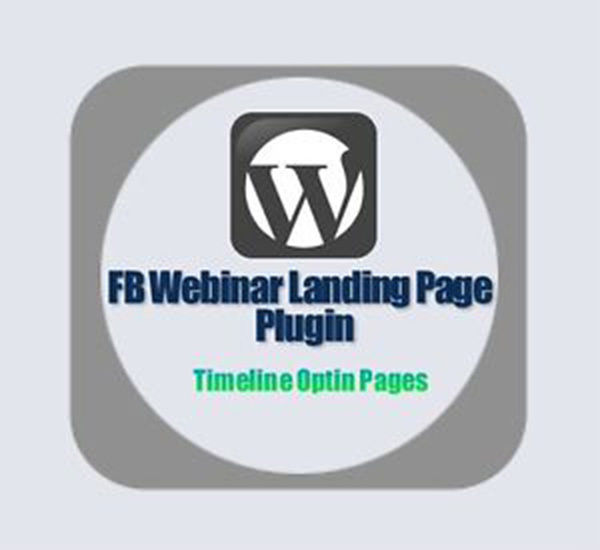Wordpress plugin - FB Webinar Timeline Optin Landing Pages 1