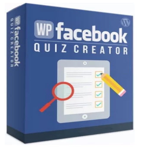 WP FaceBook Quiz Creator Wordpress Plugin W/ MRR + 25 Resell Software W/ MRR PLR 9