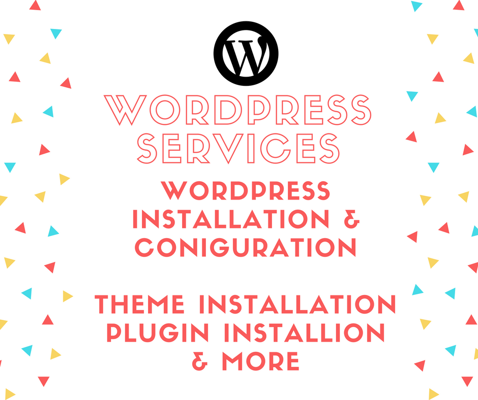 WordPress Services - Installation, Theme & Plugin Installation, Customisation, 7