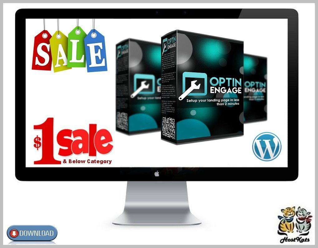 Optin Engage WordPress Plugin * Digital Download 15