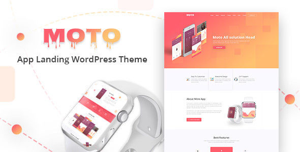 Moto v1.1.3 - WordPress Landing Page Theme 11