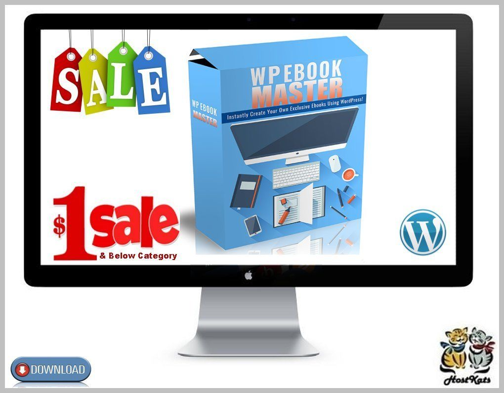 WordPress eBook Master Plugin * Digital Download 9