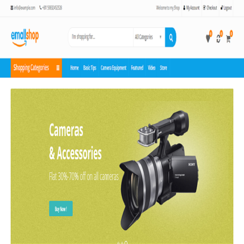 Electronics  Wordpress Theme 5