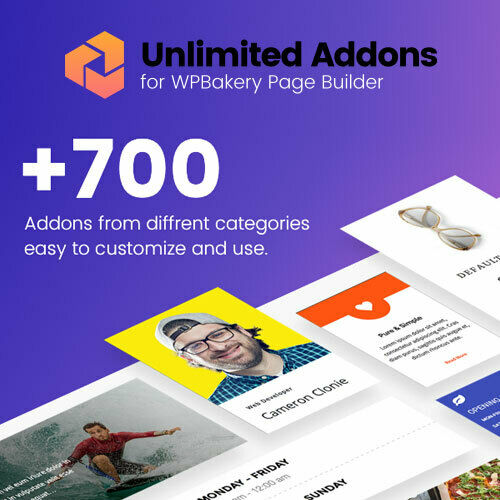 Unlimited Addons for WordPress WPBakery Page Builder Plugin (Visual Composer) 8