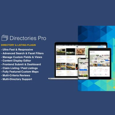 Directories Pro Plugin for WordPress 10