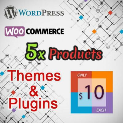 WordPress & WooCommerce - Themes & Plugins - Mega Collection 5