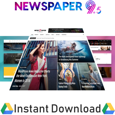 Newspaper WordPress Theme with All Plugins And Liftime Updates 12