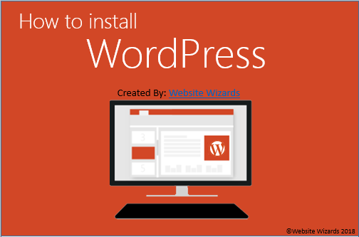 10-Page Guide To Installing WordPress / Step-By-Step Guide with Images 1