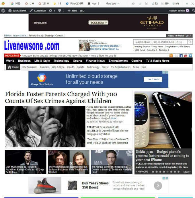 Full %100 Autopilot Wordpress News Website - Passive Income - Free Installation 15