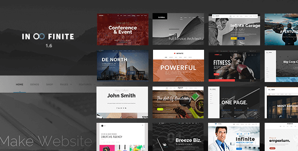 8 Responsive Multi-Purpose WordPress Theme Free install 10