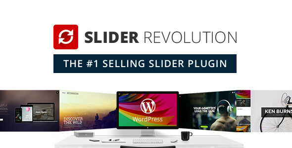 Slider Revolution Responsive WordPress Plugin - Latest Version 1