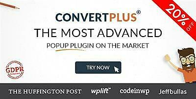 Popup Plugin For WordPress - ConvertPlus v3.3.6 1