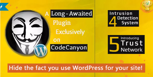 Hide My WP - Amazing Security Plugin for WordPress! - Latest Version 1
