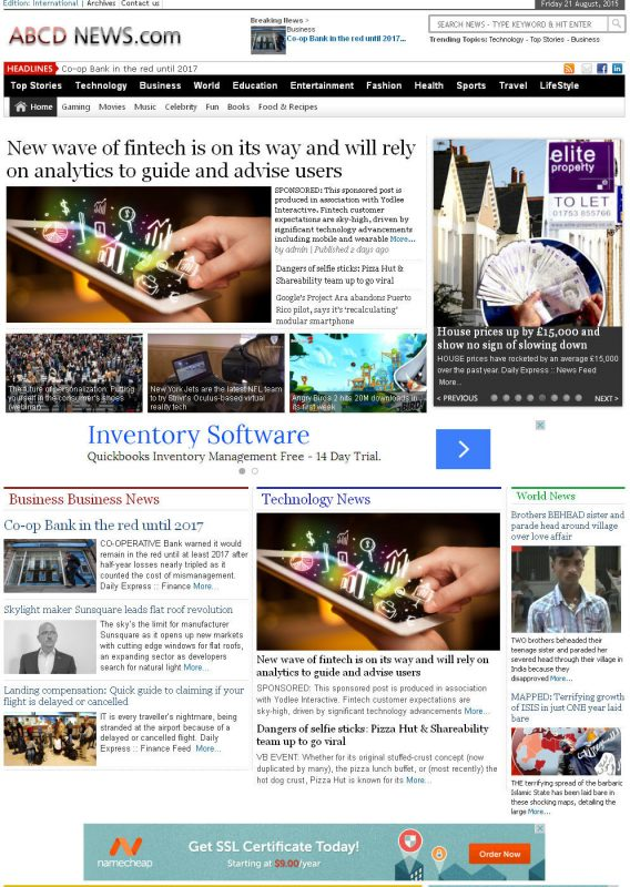 Fully Automated Wordpress News Website - Autopilot SEO Ready Website 19