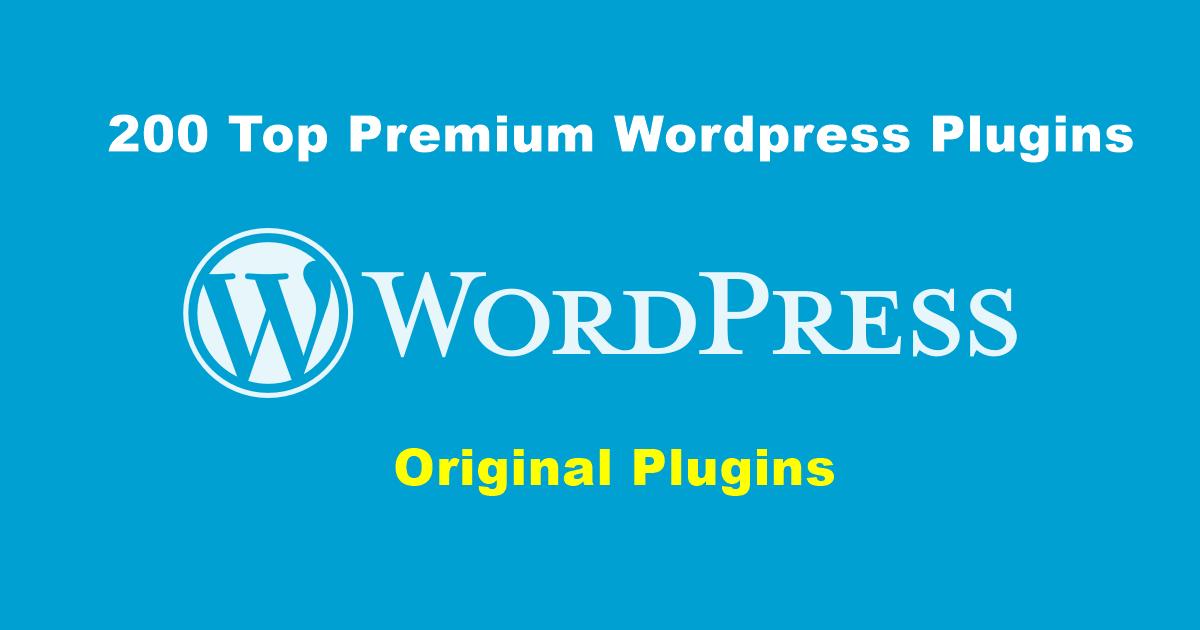 200 Best Premium Wordpress Plugins Instant Download 18