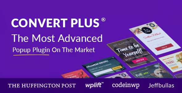 ConvertPlus Popup Plugin For WordPress - Latest Version 16
