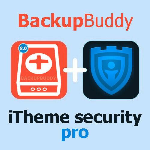 BackupBuddy + iThemes Security Pro | WordPress Plugin | Lifetime Update 4