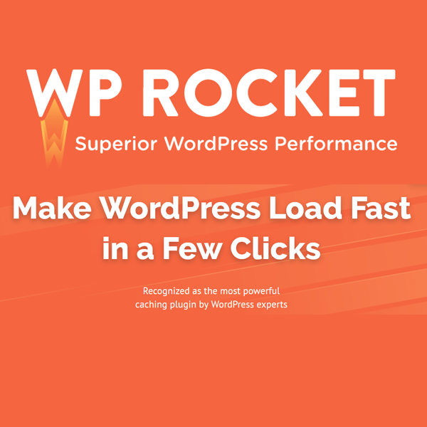 WP Rocket Pro WordPress Caching Plugin and Speed Optimization - Latest Version 1