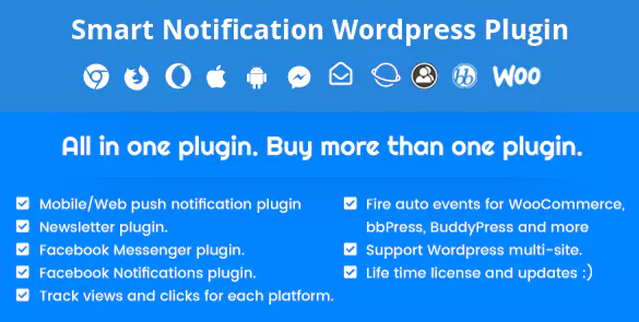 Smart Notification WordPress Plugin - Latest Version 7