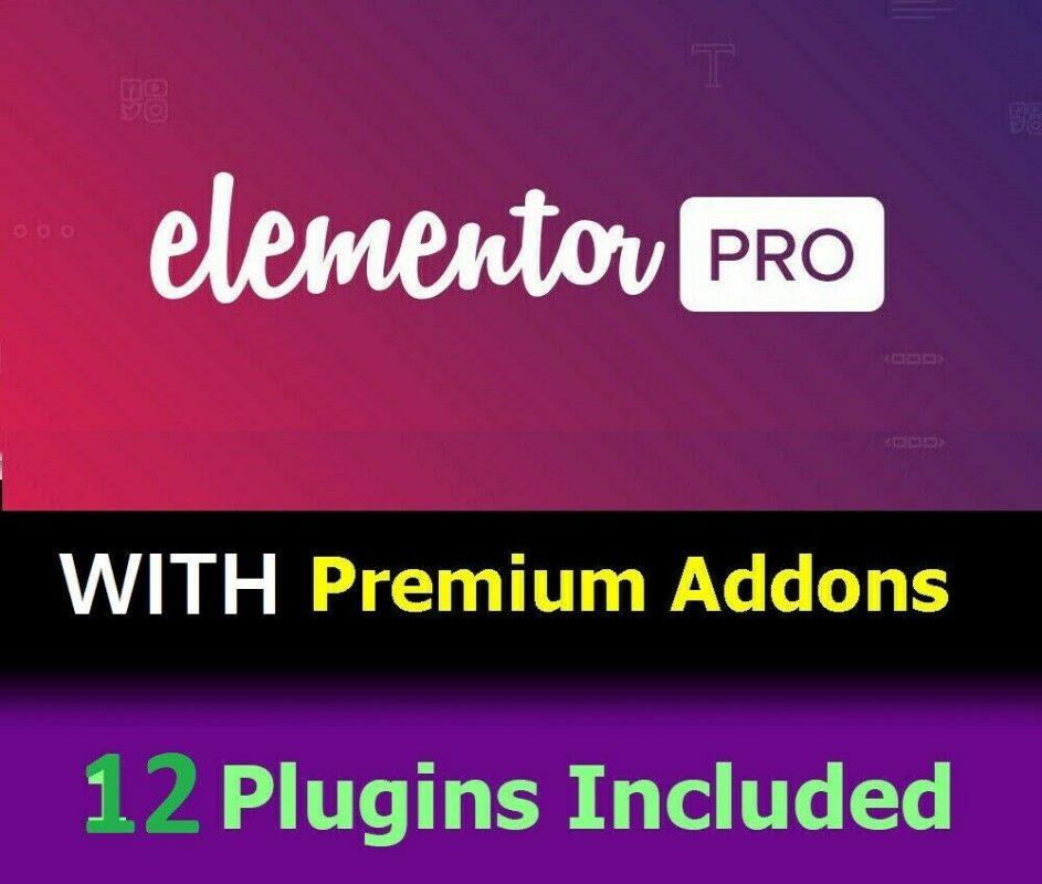 Elementor PRO 2.7.3 ACTIVE // 12 Addons // WordPress Plugin + 35 Landing Pages 8