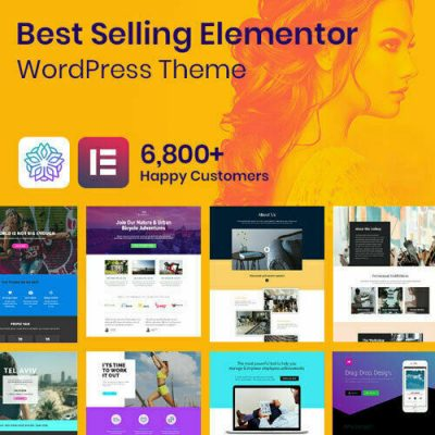 Phlox Pro - Best Elementor WordPress Themes + pro plugins included - Free Update 6