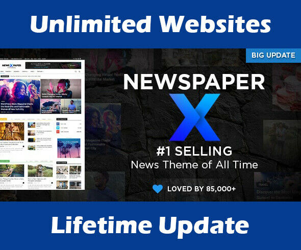 Newspaper WordPress Theme | #1 Selling News Theme | Latest & Lifetime Update 1